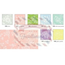 Fommy 2 mm 40x60 cm fantasia con rose