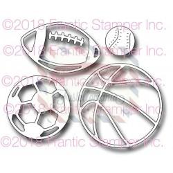 Fustella metallica Sports Ball Icons