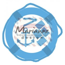 Fustella metallica Marianne Design Creatables Nautical Set