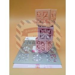 Fustella metallica Mini Box porta candela