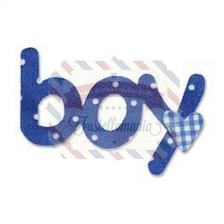 Fustella Sizzix Boy con cuore 2