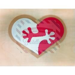 Fustella L Mani nel cuore