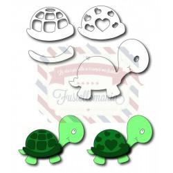 Fustella metallica Baby tartaruga
