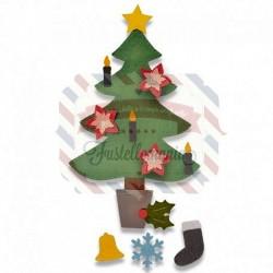 Fustella Sizzix A4 Christmas Tree 2