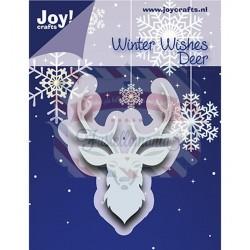 Fustella metallica Joy! Crafts Cutting & Embossing Deer head