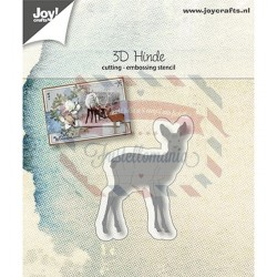 Fustella metallica Joy! Crafts Cutting & Embossing with 3D effect - Deer
