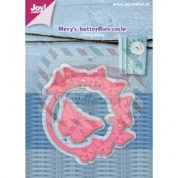 Fustella metallica Joy! Crafts Cutting stencils - Mery butterfly