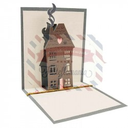Fustella Sizzix Thinlits Pop up House by Sharon Drury