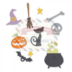 Fustella Sizzix Thinlits Halloween Set by My Life