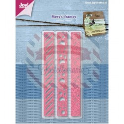 Fustella metallica Joy! Crafts Cutting stencils - Mery border