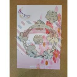 Fustella metallica Ghirlanda di fiori