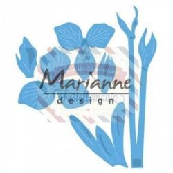 Fustella metallica Marianne Design Creatables Petra's amaryllis