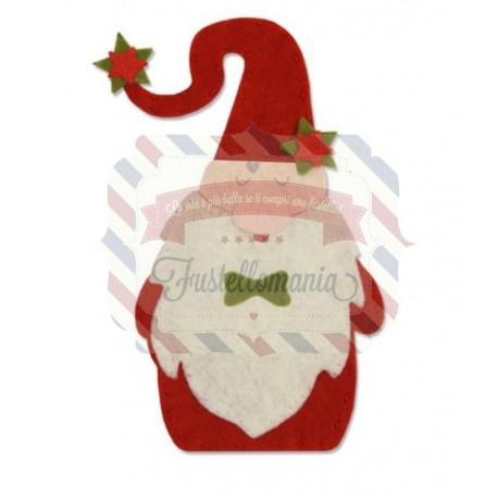 Fustella Sizzix Bigz Christmas Gnome