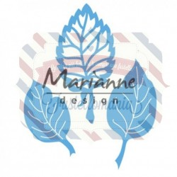 Fustella metallica Marianne Design Creatables Anja's leaf set