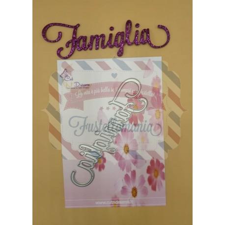 Fustella metallica Famiglia