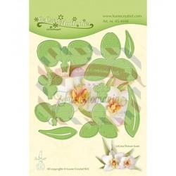 Fustella metallica Leane Creatief flower 012 Orchid