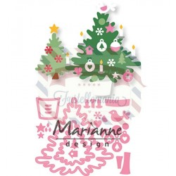 Fustella metallica Marianne Design Collectables Eline's Christmas tree
