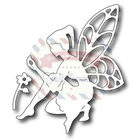 Fustella metallica Fatina e fiore
