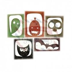 Fustella Sizzix Thinlits halloween hangouts