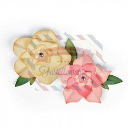 Fustella Sizzix Framelits Floral Frames