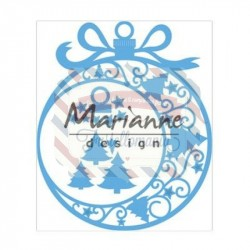 Fustella metallica Marianne Design Creatables Christmas Ornament