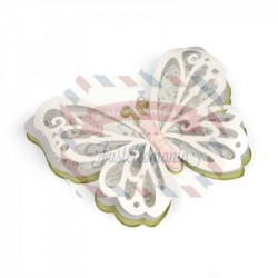 Fustella Sizzix Thinlits Large Delicate Butterfly by David Tutera