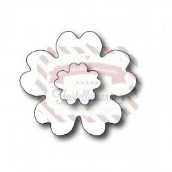 Fustella metallica Fiore piccolo doppio