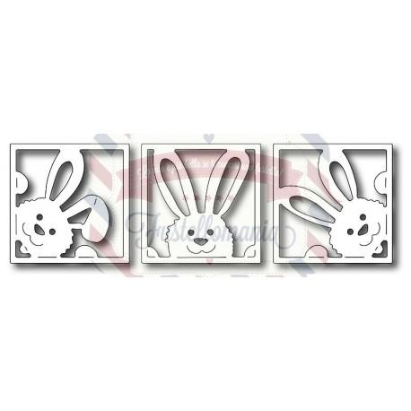 Fustella metallica Quadrati coniglio spione