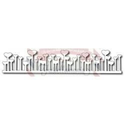 Fustella metallica Bordo giardino San Valentino