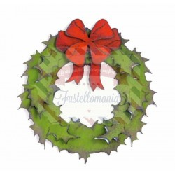 Fustella Sizzix Bigz Holiday Wreath by Tim Holtz