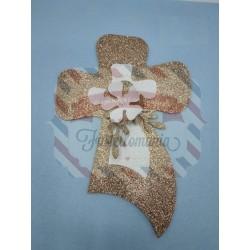 Fustella A4 Croce fiorita