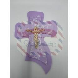 Fustella L Doppia croce con Gesù