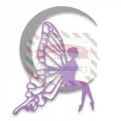 Fustella Sizzix Thinlits Fairy Moon