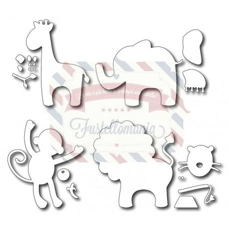 Fustella metallica Set animali