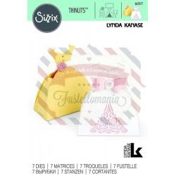 Fustella Sizzix Thinlits Dress Box by Lynda Kanase