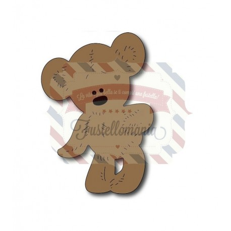 Fustella metallica Orsetto Teddy Bear