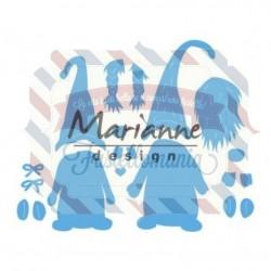 Fustella metallica Marianne Design Creatables tomte gnome