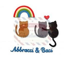 Fustella Sizzix Thinlits Abbracci & Baci
