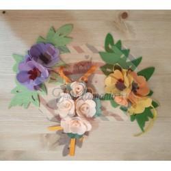 Fustella XL Rametto e fiore