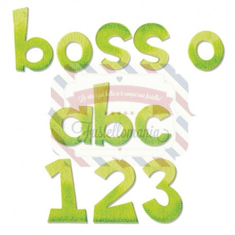 Fustella Sizzix Boss - O minuscolo