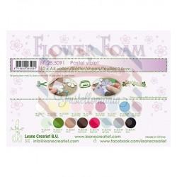Fommy Leane Creatief per fiori 0,8 mm in fogli A4 10 pezzi colore Pastel Violet