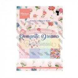 Carta da scrapbooking Marianne Design Bloc romantic dreams A5