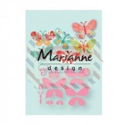 Fustella metallica Marianne Design Collectables Eline's butterflies