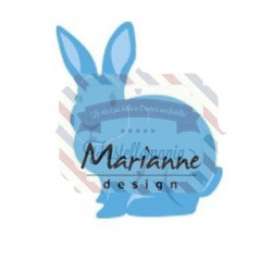 Fustella metallica Marianne Design Creatables bunny
