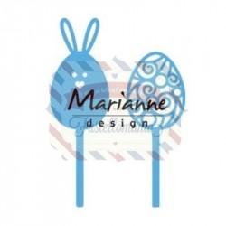 Fustella metallica Marianne Design Creatables easter pins