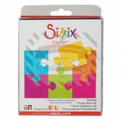 Fustella Sizzix Originals Puzzle 2