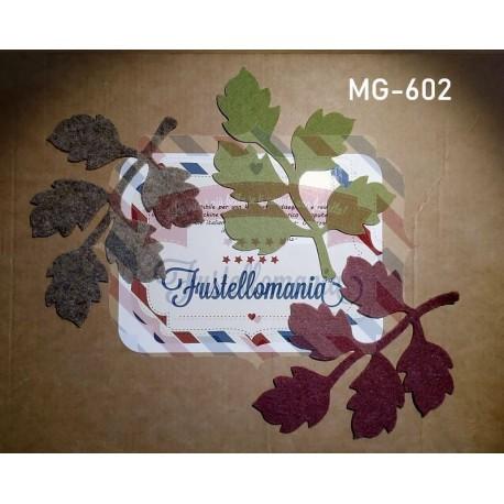 Fustella M Ramo con foglie