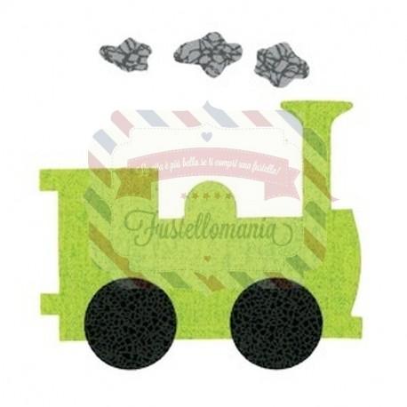 Fustella Sizzix Bigz Locomotiva