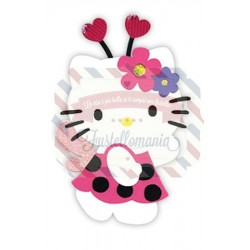 Fustella Sizzix Bigz Hello Kitty coccinella