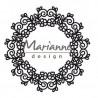 Fustella metallica Marianne Design Craftables floral doily
